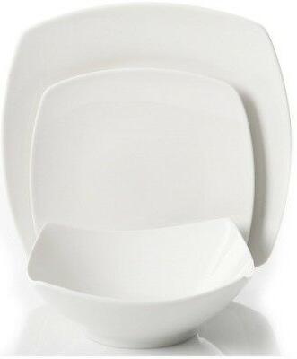 Gibson Square Ceramic Dinnerware Set for 8 SHIP