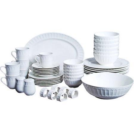 home regalia dinnerware serveware set