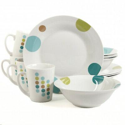 home retro specks dinnerware set