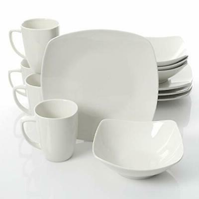 home zen buffetware 12 piece dinnerware set