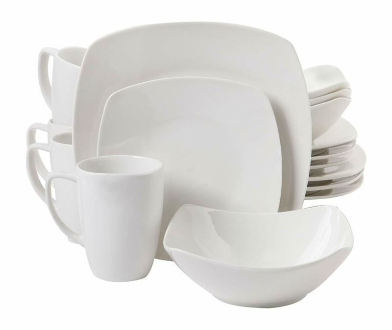 home zen buffetware 16 piece dinnerware set
