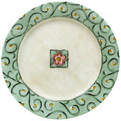 impressions watercolors luncheon plate