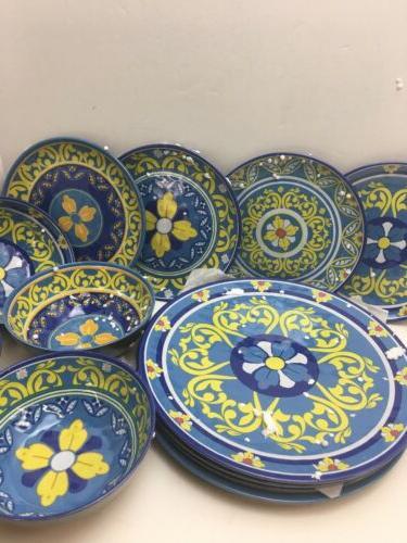 kitchen dinnerware 12 piece set