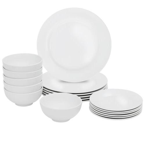 18-Piece Set Dinner Dish For
