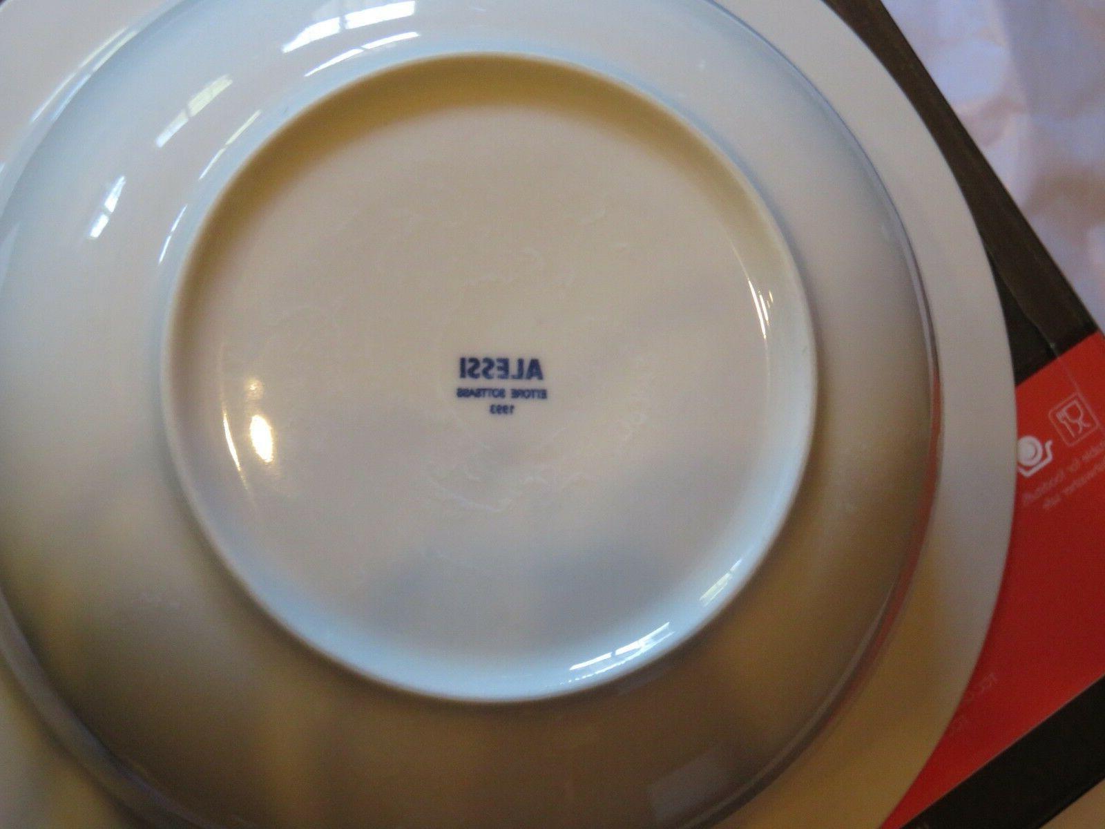 Alessi Porcelain Bowl Ettore 1993