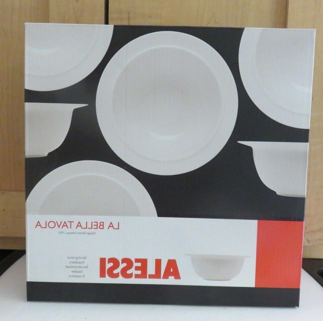 "Alessi Porcelain Off White 10"" Bowl 1993"