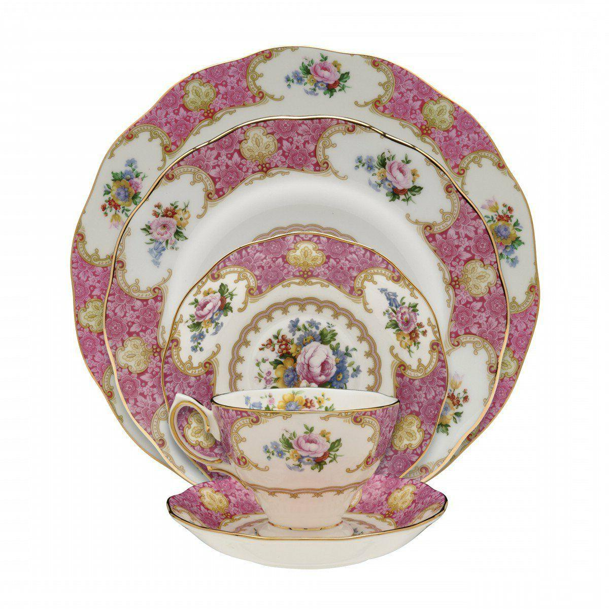 lady carlyle 60 pc set for 12