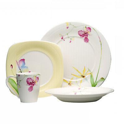 leilani 16 piece dinnerware set