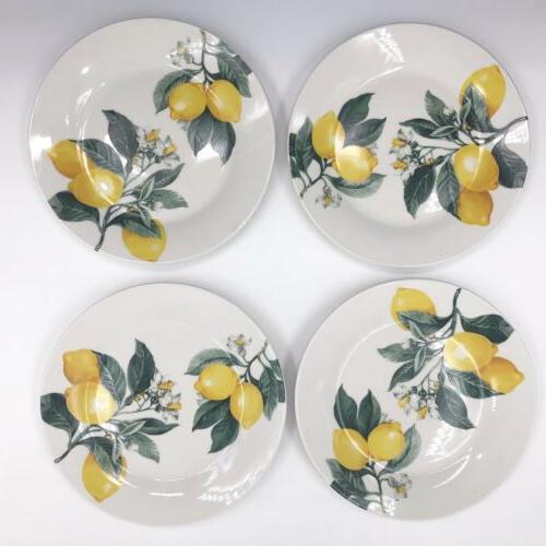 Lemon Pattern Ceramic Dish