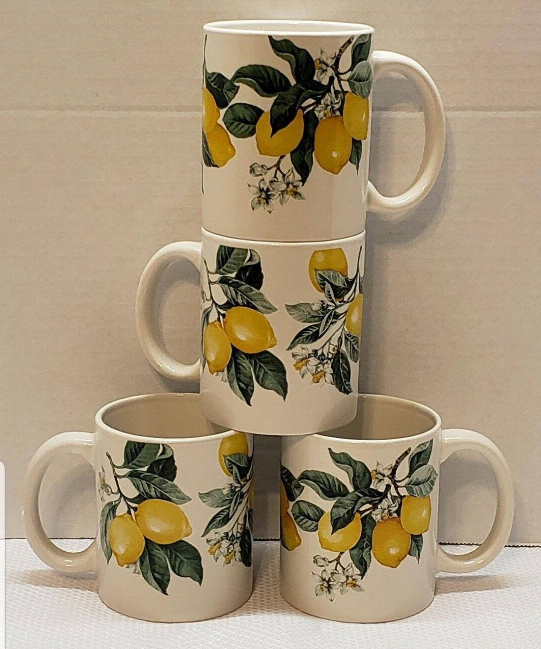 Lemon Printed Ceramic Set 16