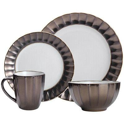 leyna 16 piece dinnerware set