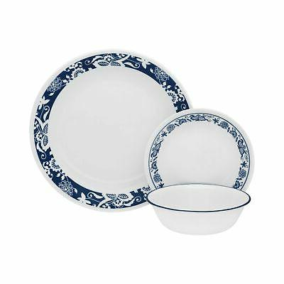 livingware 16 piece dinnerware dish set service