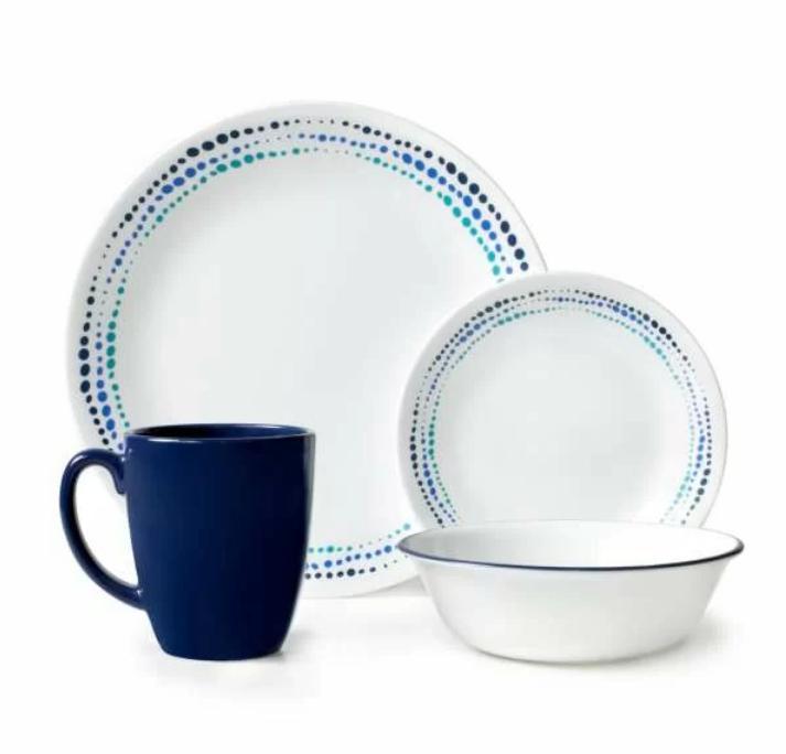 livingware 16 piece dinnerware set service