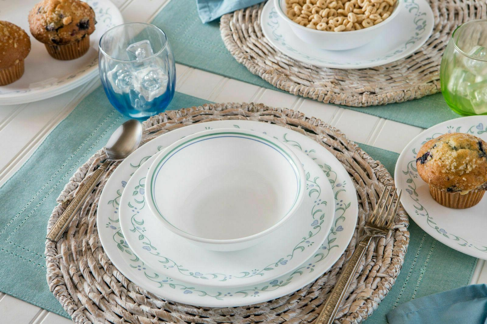 Corelle Dinnerware Set, Suitable Small