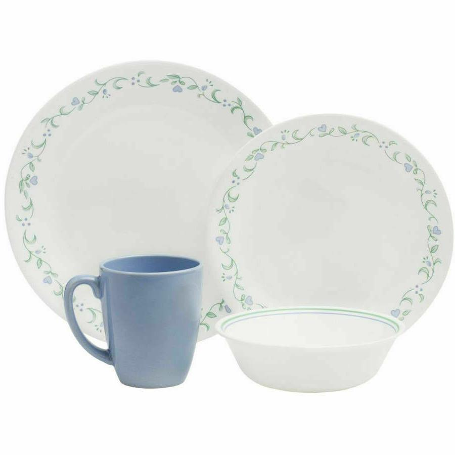 Corelle Country Dinnerware Set, Small Families
