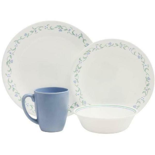 16-Piece Cottage Dinnerware Set, durable &