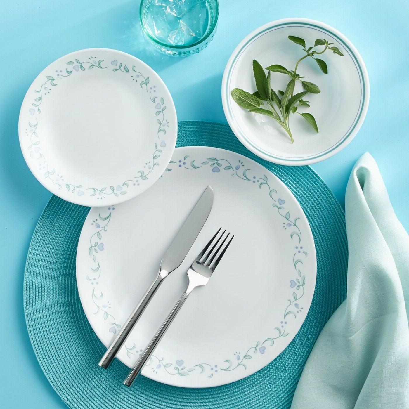Corelle Livingware Country Cottage 16-Piece Dinnerware Set