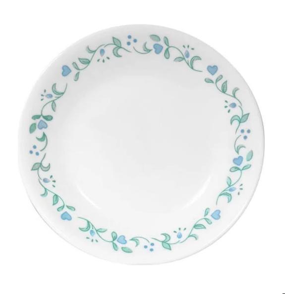 Livingware Country Dinnerware Set Porcelain: Bowl, Plate - Corelle