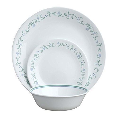 livingware country cottage dinnerware set