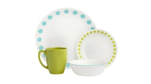 livingware south beach 16 piece dinnerware set