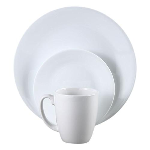 Dinnerware Set, Piece, White,