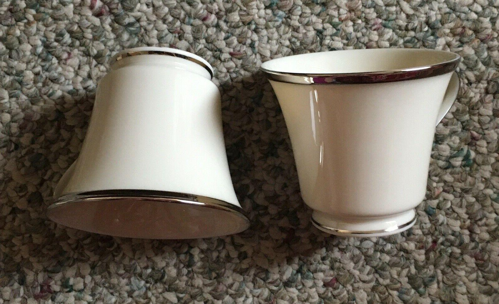 LOT OF Solitaire Platinum-Banded 5-Piece