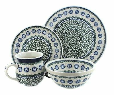 maia dinner set polish pottery