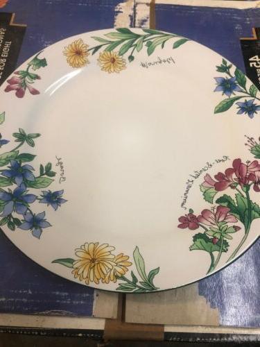 majesticware geranium stoneware 45 pc service
