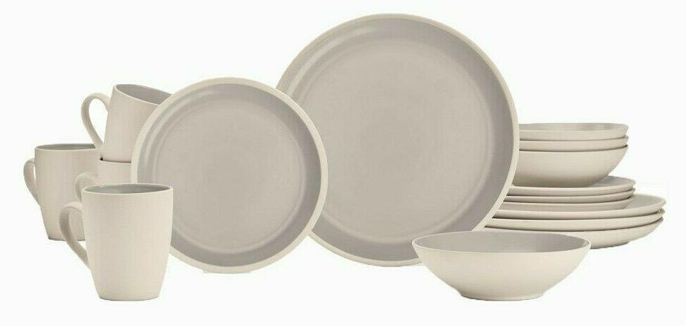 maldive 16pc stoneware dinnerware set cdst 16pmd