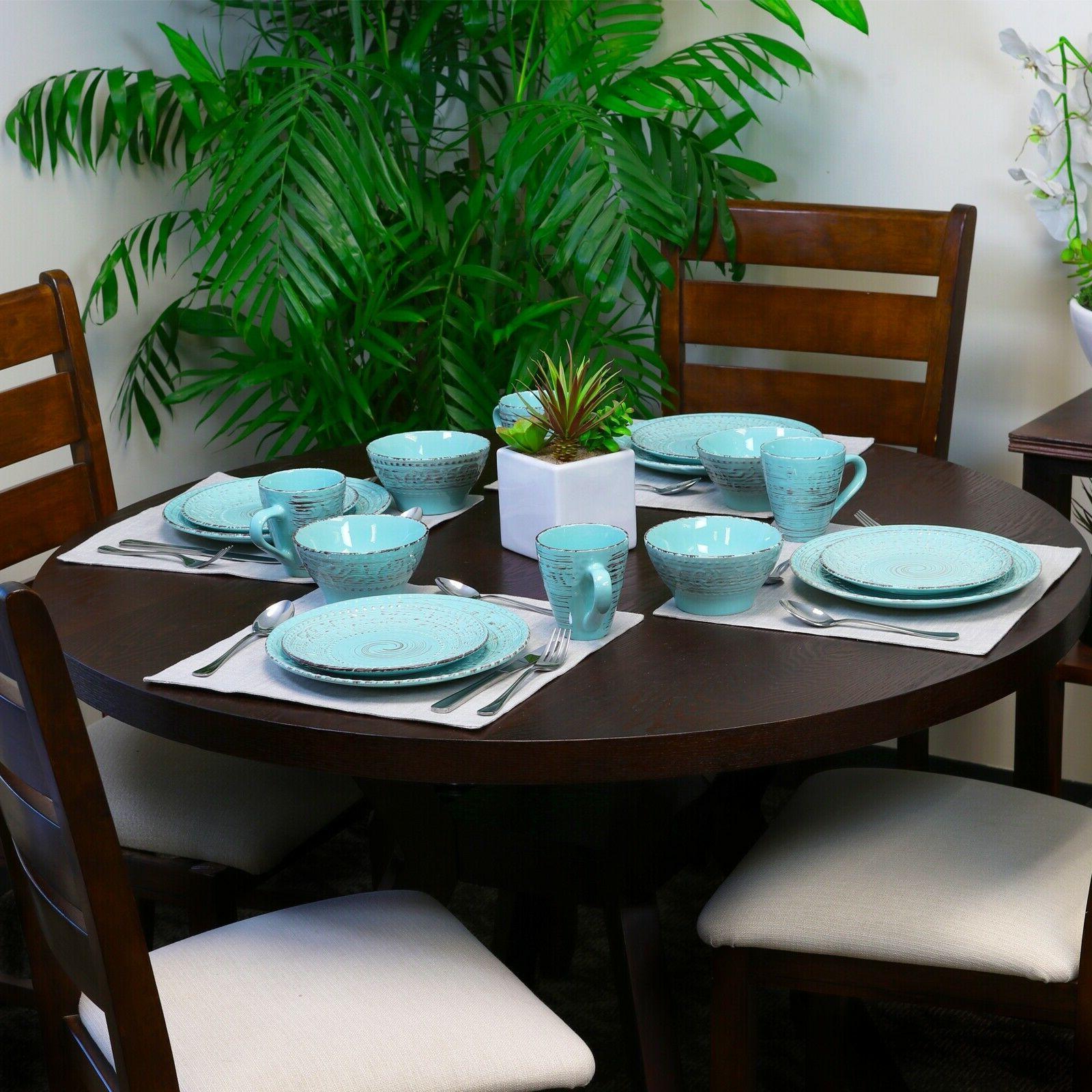 Malibu Piece Plate Turquoise