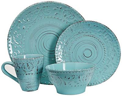 malibu waves dinnerware set