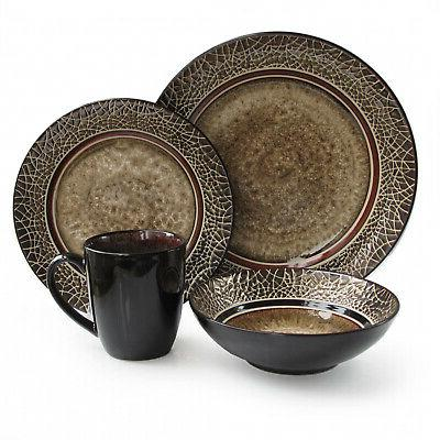 markham round 16 piece dinner set