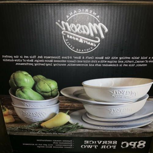 Mason Craft More 8 Ceramic Dinnerware For