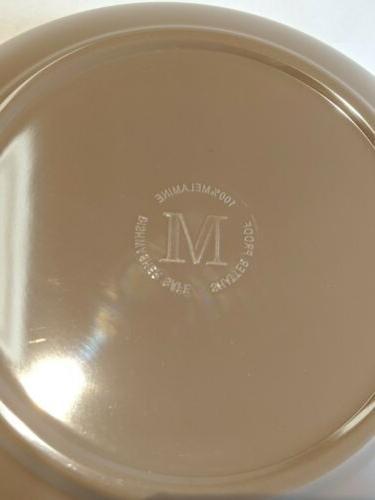 Melange Melamine Dinnerware piece Shatter