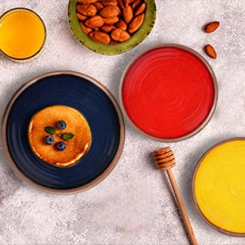 Melange 100% Dinner Plate Shatter-Proof Chip-Resistant Dinner Color: Yellow