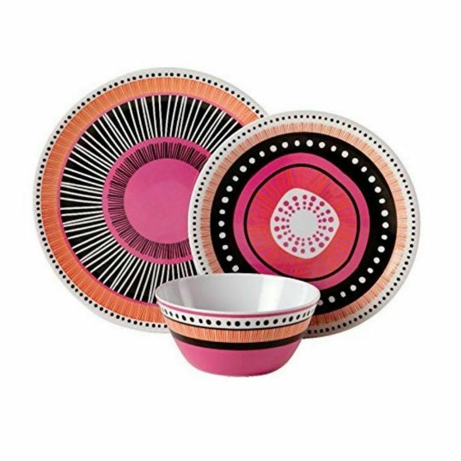 Melamine Dinnerware Plates Bowls Tableware