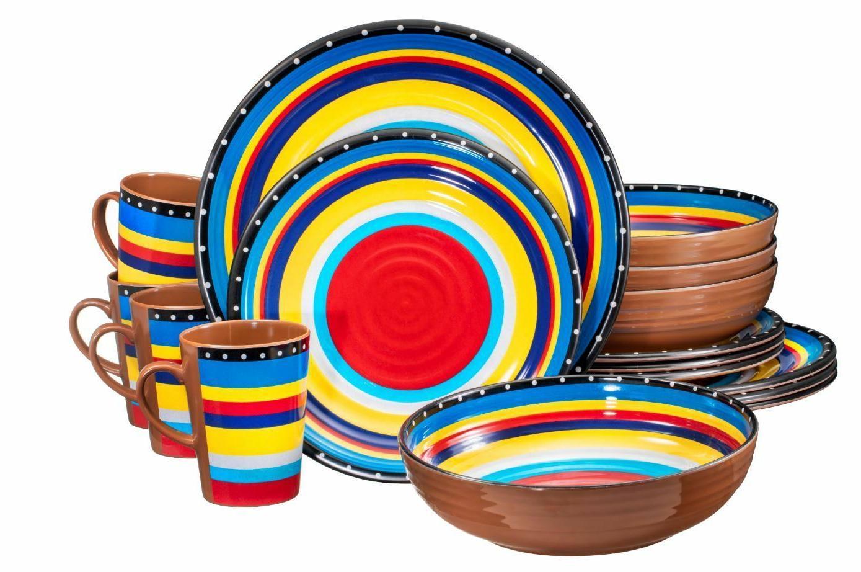 melamine dinnerware set