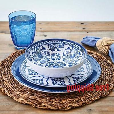 member s mark 18 piece melamine dinnerware