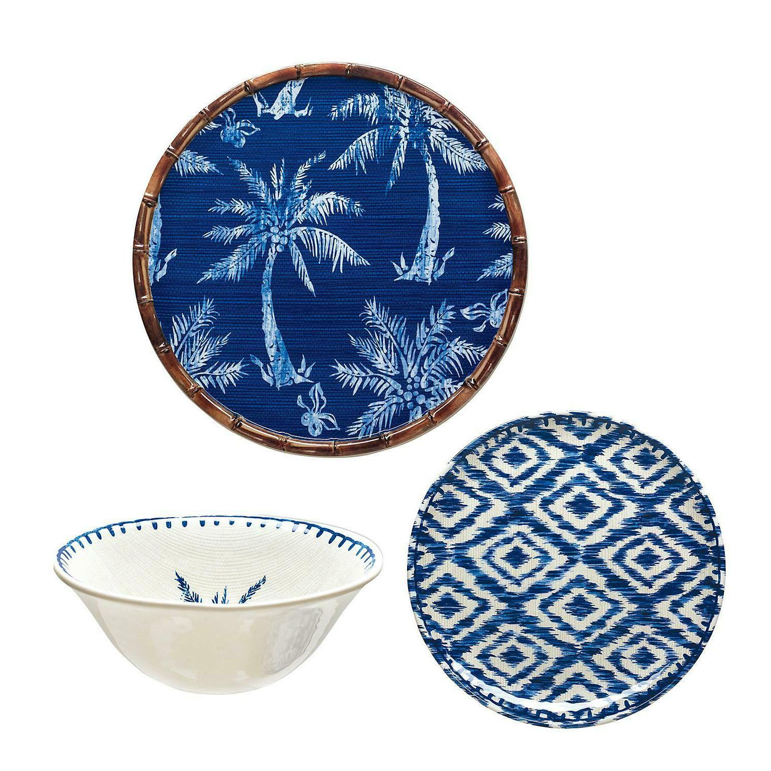 Member's Dinnerware Set Blue