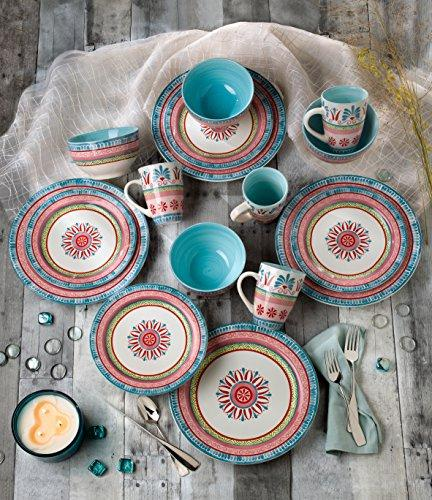 Euro Ceramica 16 Piece Ceramic Set,