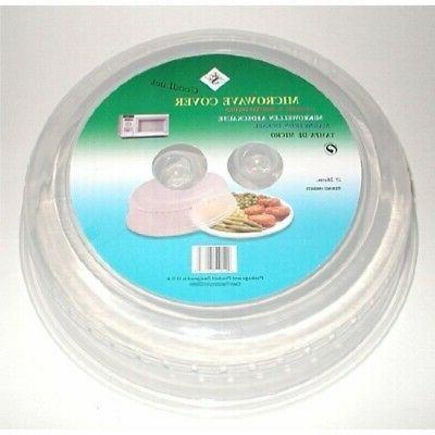 microwave splatter shields plate covers