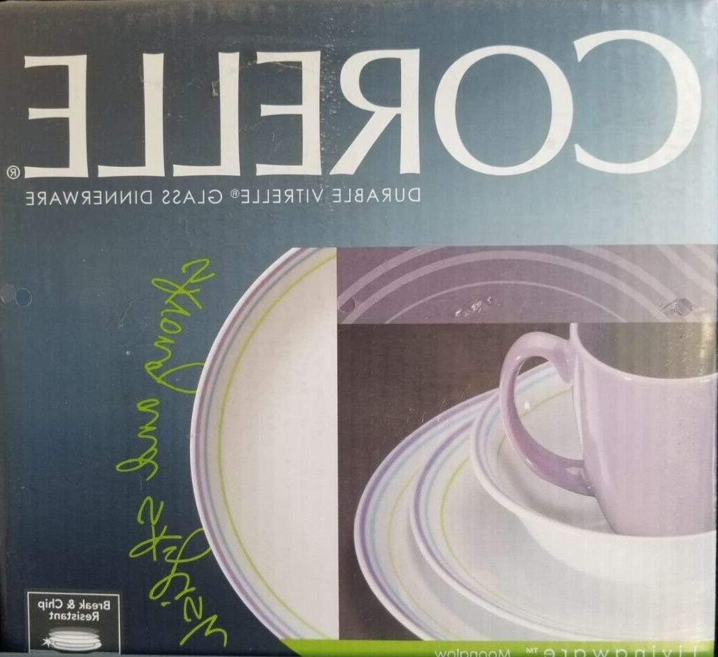 moonglow dinnerware set new in box service