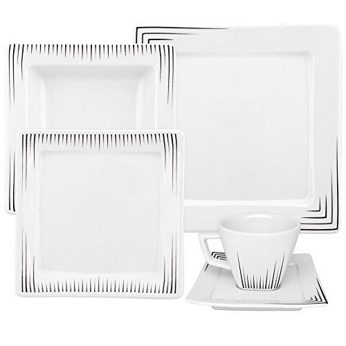 nara venue porcelain dinnerware set