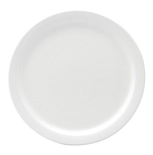 narrow rim dinner plate