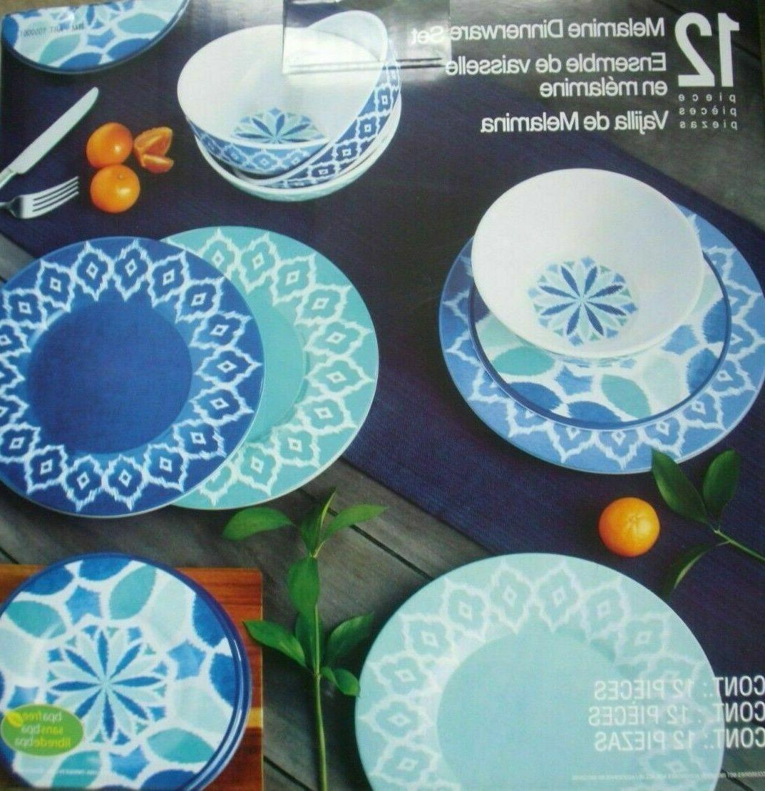 new 12 piece dinnerware set nice gift