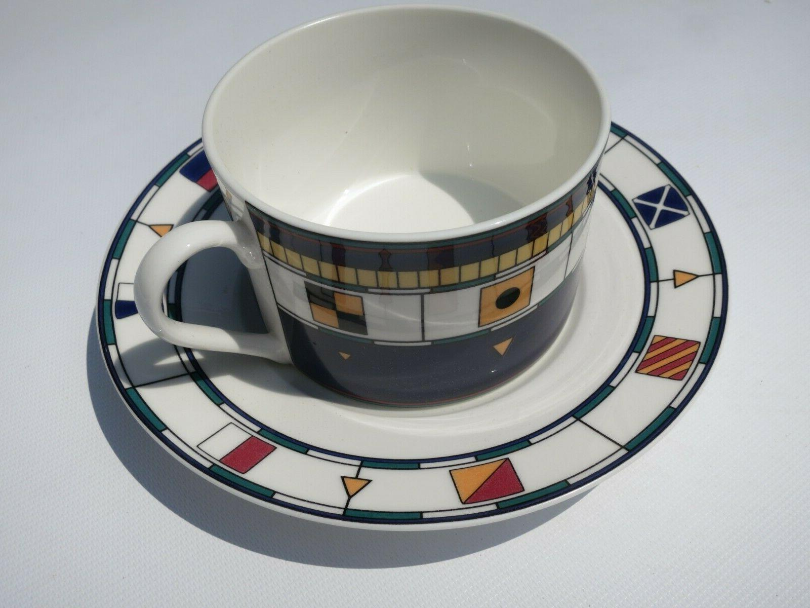 New! Sango Anchors Porcelain Dinnerware