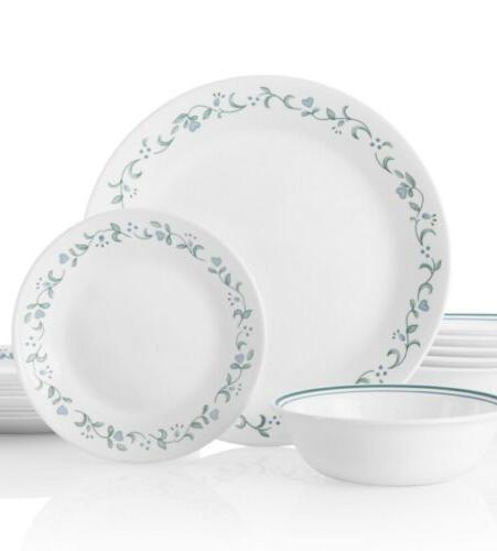new classic 16 piece country cottage livingware