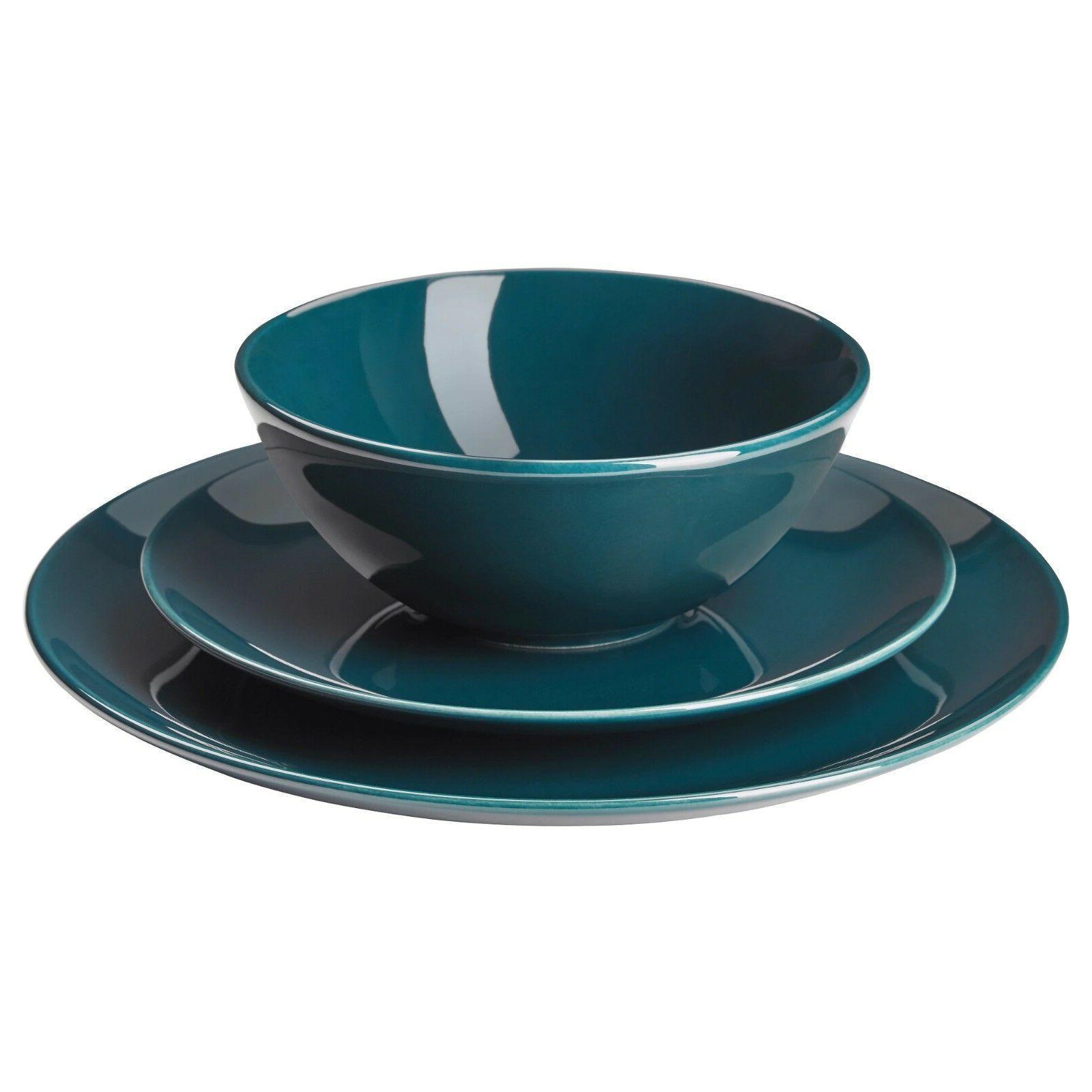 NEW FÄRGRIK 18-piece service Dinnerware Set Kitchen Earthen