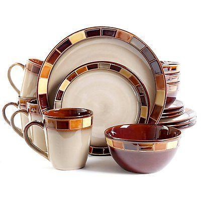 new gibson casa estebana 16 piece dinnerware