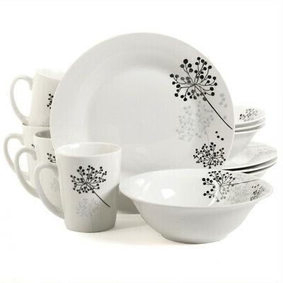 new netherwood 12 piece dinnerware set